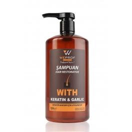Weprof Tuzsuz Keratinli Bakım Şampuanı